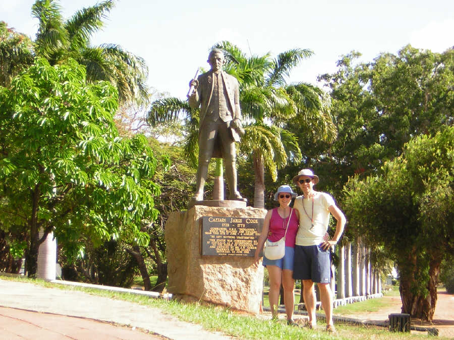 Cooktown - Captain Cook Memorial - Australien Australia